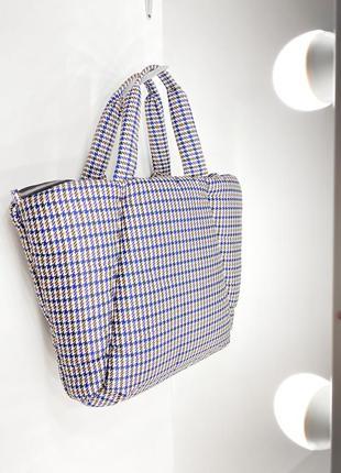 Большая сумка оверсайз трендовая шопер сумочка stradivarius