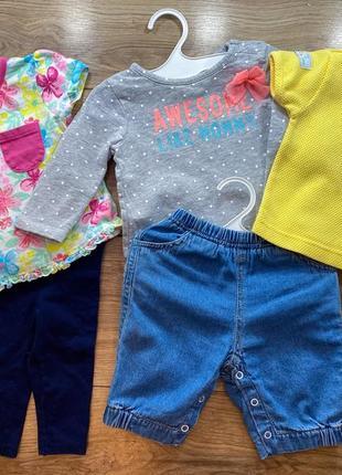 Одяг комплект лот одежды zara next h&m carter's
