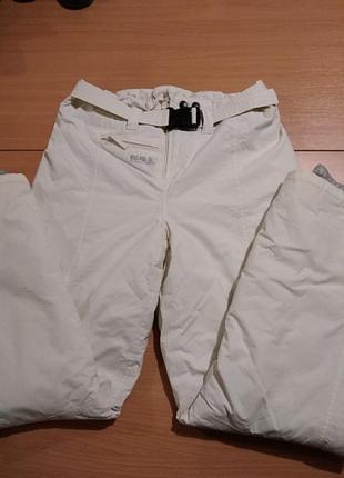 Горнолыжные женские штаны белого цвета бренда 8848 outdoor