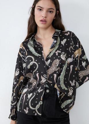 В наличии zara блузка
