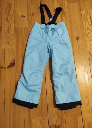 Лижні штани/ зимовий напівкомбінезон