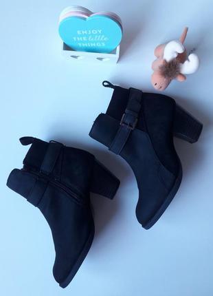 Кожаные ботильоны topshop ботинки челси
