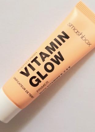 Праймер для лица smashbox photo finish vitamin glow, 7 мл