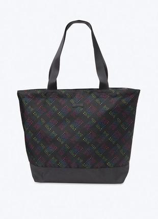 Чёрная сумка victoria's secret pink