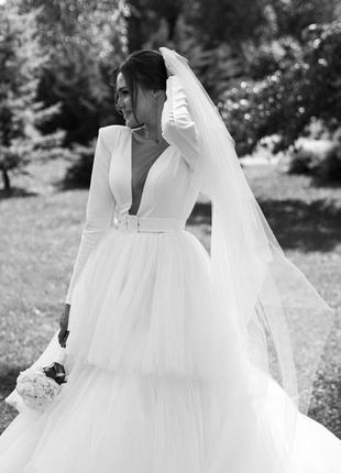 Свадебное платье3 фото