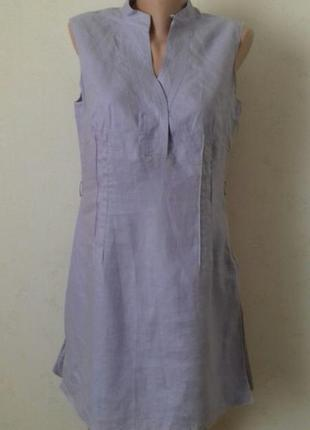 Скидки,распродажа...много красивых вещей  льняное платье-туника next