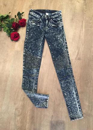 Узкие джинсы варенки