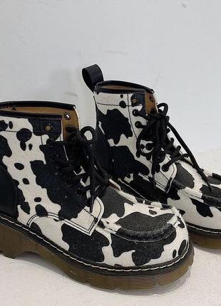 Ботинки в коровий принт 🐄