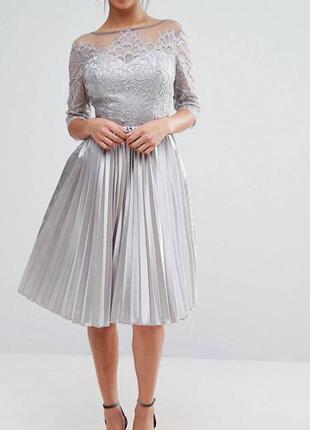 Серые платья на выпускной 2019 - купить недорого вещи в интернет ... d2dc02a1c79ba