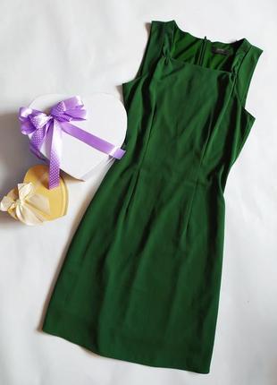 Базовое зеленое платье esprit