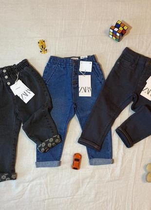 Джинсы zara джинси брюки штаны штани 92 98 см 2 3 года