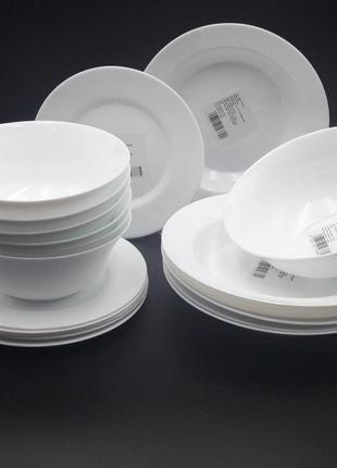 Набір столовий тарілки