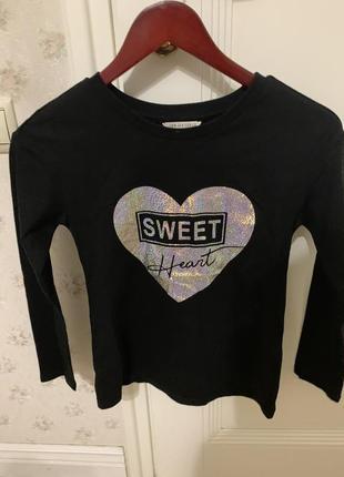 Свитшот sweet heart gloria jeans gee jay girls