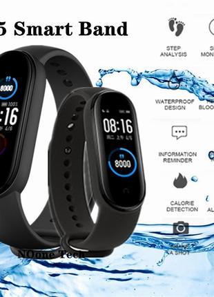 Фітнес браслет smart watch m5 умные часы фитнес браслет
