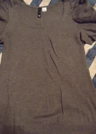 Серая футболочка h&m