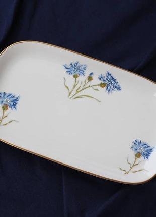 Фарфоровая посуда hасkеfors, серия blaklint, 60-е годы. ручная роспись.