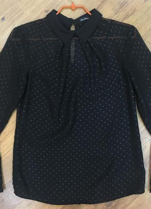 Черная блузка kira plastinina