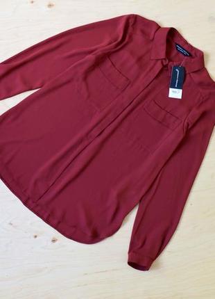 Новая шифоновая  блузка рубашка  dorothy perkins