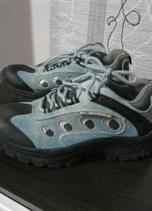 Кроссовки активные непромокаемые неубиваемые треккинговые  кроссовки нубук 37-38, 24.5 см