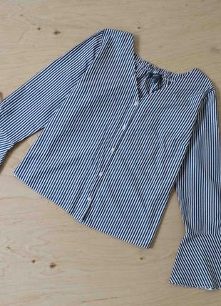 Блузка рубашка  в полоску  большого размера  primark
