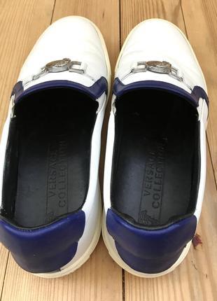 Мокасины, туфли versace