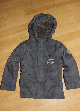 Демисезонная куртка  парка