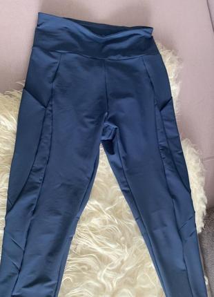 Oysho спорт штаны синий м 36-38