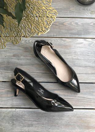 Faith лакированные туфли лодочки босоножки с закрытым носочком