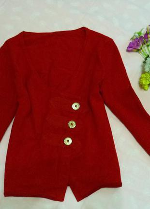Стильный яркий пуловер-кроп, от karen millen