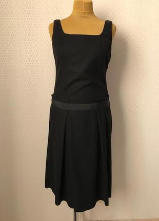 Платье сарафан классика офис от benetton, размер укр 46-48