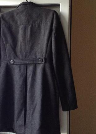 Кашемировое пальто zara