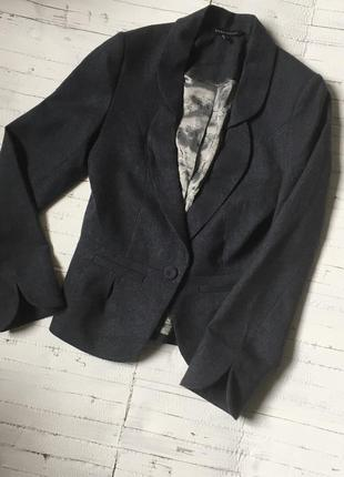 Шерстяной пиджак блейзер laura ashley