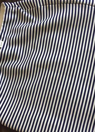 Стильная юбка в полоску