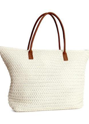 Пляжная сумка от h&m