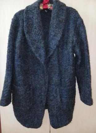 Бойфренд пальто женское пальто шерстяное пальто  mango