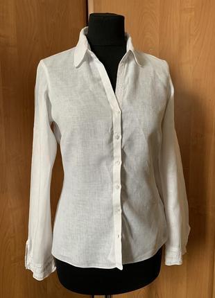 Рубашка льняная р.38
