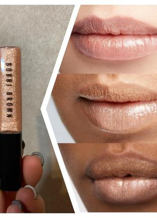Блеск для губ bobbi brown crushed oil-infused gloss в оттенке bare sparkle 4мл