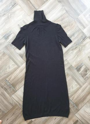 Трикотажное платье naf-naf