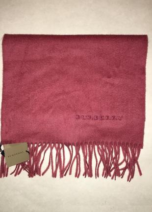 Кашемировый шарф burberry новый с етикеткой