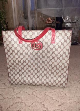 Классная сумка в стиле гуччи