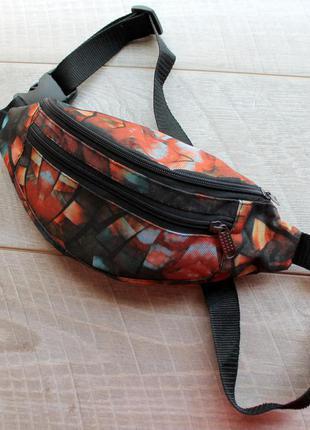 Бананка, барсетка, напоясная сумка, сумка на пояс, поясная сумка