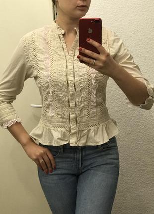 Хлопковая рубашка cherokee m