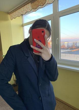 Піджак, двобуротний, куртка, тренд н&м