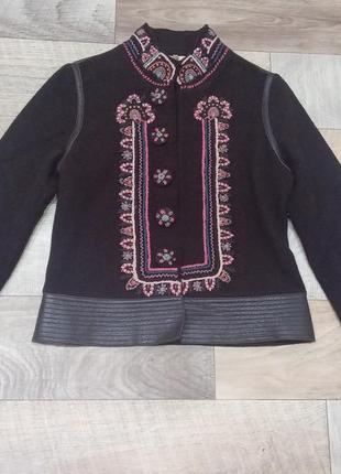 Kenzo дизайнерский винтажный жакет, пиджак, полу пальто