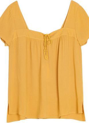 Летняя блуза stradivarius