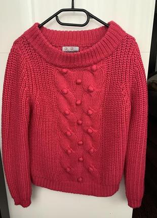Matalan очень тёплый свитер 30%шерсти