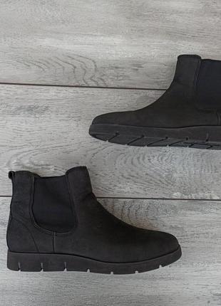 Ecco женские кожаные ботинки челси оригинал деми