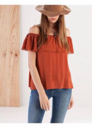 Новая блуза stradivarius