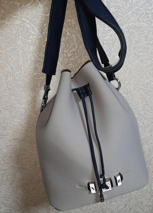 Брендовая итальянская сумка мешок save my bag