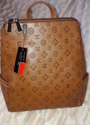 Акція!!! до дня весни! стильний рюкзак pierre cardin (оригінал)